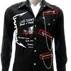 Sz S M L XL 2XL Metallica Justice Long Sleeve Shirt Punk Tee Many Size Jmt10