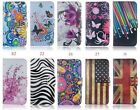 Multifuncti card holder wallet Mobile cell case cover For Huawei
