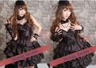 Dolly Gothic Visual Punk Wedding Party Dress 61082 Blk