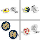 Choose Your NCAA College H-O Team Executive Cufflinks - Set of 2 with Box