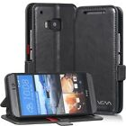 Vena Leather Wallet Folio Case Cover w/ Stand Card Slot For HTC One M9 Hima