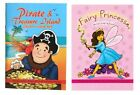 Loot Bag Sticker Activity BOOKS - Boys/Girls Pirates/Princess (Toys/Party/Kids)