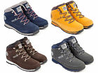 MENS HENLEYS PROJECT DLX CASUAL HIKER WALKING WORK LACE BOOTS SIZE 6-14 RRP £45