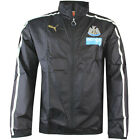 Puma Newcastle FC NUFC Walkout Full Zip Mens Black Nylon Jacket (745967 01 R)