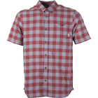 Vans Milton Mens Shirt Short Sleeve - Marsala All Sizes