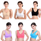 1PC Women Thick Padded Athletic Vest Fitness Sports Yoga Stretch Bra GFY