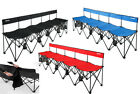 Insta-Bench Deluxe LX 5 Seater Portable Folding Sports Bench & Bag, Choose Color