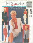 McCalls 3931 Misses Palmer Pletsch Jackets Top Pants Skirt Sewing Pattern ***