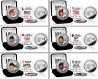 Choose Your MLB Baseball Player Silver & Color Image Medallion Coin