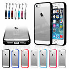 New Hard Back Case Cover for Apple iPhone 5 5S with FREE Screen Protector