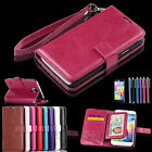 Luxury Flip Leather Card Photo Cover Case Wallet For Samsung Galaxy S5