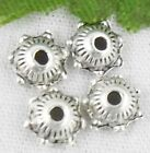 Wholesale 310/680Pcs Tibetan Silver  Bead Caps 6x2mm(Lead-free)