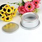 "2"" 4"" 5"" 6"" Round Wedding Cake Baking Tin Pan Mold Loose Base Bottom Aluminum"