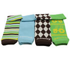 Rancher Roy Bamboo 4-Pack Leg Warmers Newborn Infant and Baby Toddler Sizes Boy