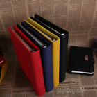 Personal Pocket Organiser Planner PU Cover Filofax Diary Notebook 4 Sizes