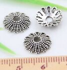 Wholesale 69/150Pcs Tibetan Silver  Bead Caps 12x3mm(Lead-free)
