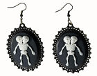 Conjoined Twins Earrings Skeleton Earrings FREE USA SHIPPING 73423
