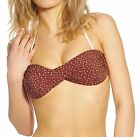 Uhlala LIMITED Damen Bikinioberteil BROWNDOTS DOTS BROWN UBW-LE-032