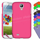 Flexible Hard Back Case Cover For SAMSUNG GALAXY S4 i9500 Free Screen Protector
