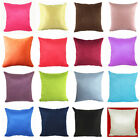 50x50CM Suede Nap 16 Pure Color Cushion Cover Home Decor Sofa Throw Pillow Case