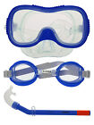 Children Girls Boys Silicone Snorkel Mask Goggles Sets Glasses Diving Equipment
