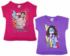 Girl's Disney Violetta Love Music Passion Cotton T-Shirt Top 8 to 16 Years NEW