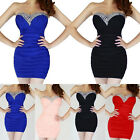 Qualified Strapless Mini / Short Cocktail Prom Party Ball Evening Dress Comfort