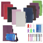 Leather Case Stand Cover For Samsung Galaxy Tab 3 7Inch Tablet SM-T110 Lucky