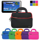 Portfolio Sleeve Handle Carry Case Pouch Bag For Proscan PLT1066 10-inch Tablet