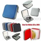CD DVD Disc 40 Storage Carry Case Cover Wallet Holder Bag Sleeve Album Hard Box