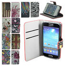 For Samsung Floral Wallet PU Leather PHONE CASE COVER SKIN