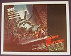 ESCAPE FROM NEW YORK ROLLED 22X28  MOVIE POSTER 1981
