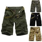 Top Trendy Men Casual Military Army Cargo Combat Work Cotton Fifth Shorts Pants