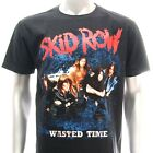 Sz S M L XL XXL 2XL Skid Row T-shirt Heavy Metal Hard Rock Black Many Size Sk4