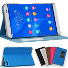 """Slim Build-in Case Flip PU Leather Cover Stand Skin For 7""""HUAWEI Honor X2 Tablet"""