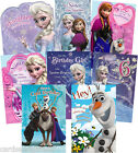 Disney Frozen Birthday Card Sister Niece Granddaughter Daughter 4th 5th 6th 7th