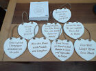 HOME SWEET HOME PLAQUE FRIENDS THEME 2 CHOICES