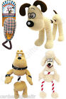 Wallace & Gromit Plush Dog Toys Rope Tug Toy Squeaker Fluffles Preston Slipper