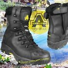 Amblers FS999 S3 WP HRO+W/P+SRC Safety Boots - Black - 200g thinsulate lining