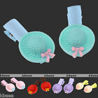 2pcs Cute Hat Resin Hair Clip Hairpin For Girls Student Children Child Baby Gift