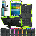 Heavy Duty Hybrid Case Shockproof Hard Stand Cover For Huawei Ascend G7 + Film