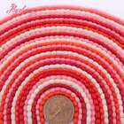 3x5mm Column Smooth Column Coral Gemstone Beads For Jewelry Making Strand 15""