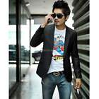Mens Slim Fit Fashion Casual One Button Suit Coat Jacket Blazers Tops Outwear