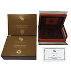 2013-W Proof $10 Gold Helen Taft First Spouse Box & COA No Coin