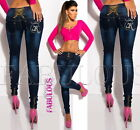 New Slim Skinny Leg Jeans For Women Designer Size 10 12 14 2 4 6 8 XS S M L XL