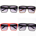 Mens Ladies Aviator Sunglasses Retro Vintage Designer Square Fashion Style Large