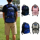 "Deluxe Computer Backpack Fits 15"" Laptop Men Women Shoulder School Work Travel"