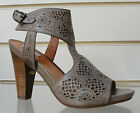 Fabulous Geox taupe laser cut detail brown sandals  BNWB