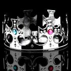 Acrylic Rhinestone Party King Crown