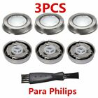 1/3 Set Shaver Razor Head Replacement Blade +Brush for Philips HQ3 HQ4 HQ55 HQ56